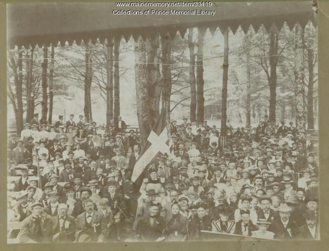 Danish Brotherhood Society outing,  Standish, 1899
