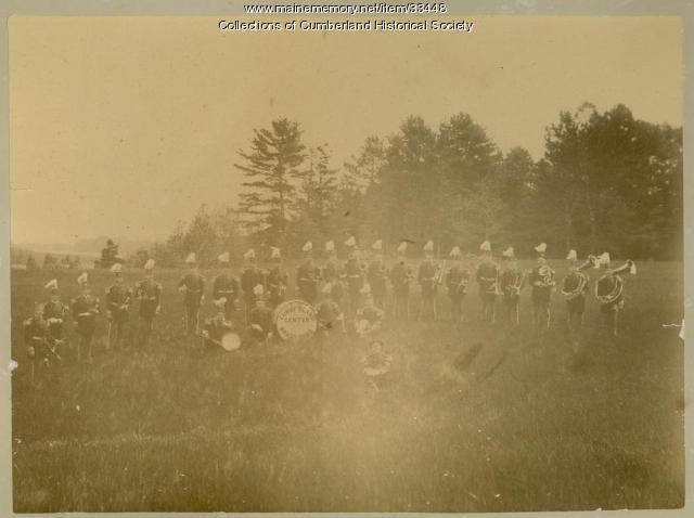 Cumberland Town Band, ca. 1875