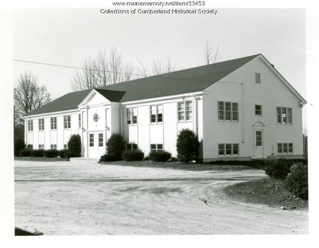 Congregational Church Parish House, Cumberland, 1975