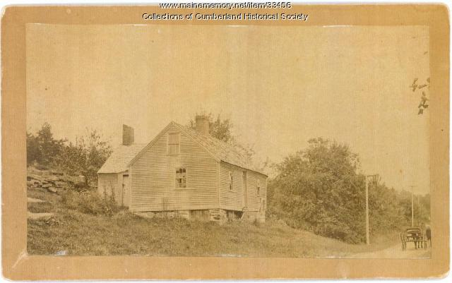 'Second' Sturdivant House, North Yarmouth, ca. 1895