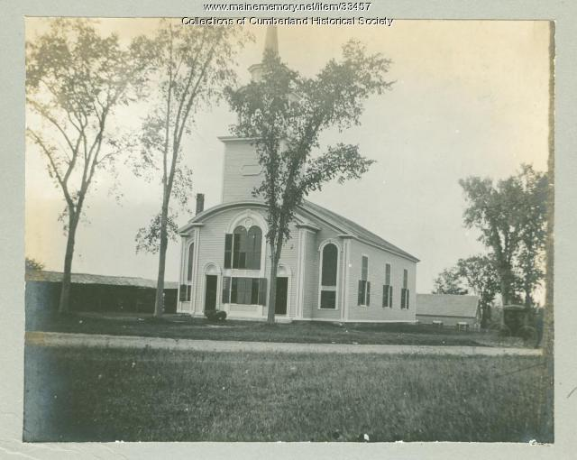 SEE NOTES Congregational Church of Cumberland, c.1905