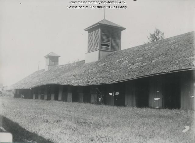 Old Stables, Saco Fairgrounds, 1914