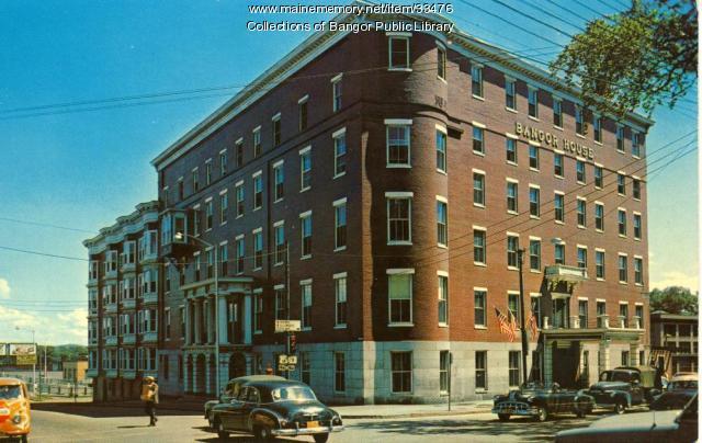 Bangor House, Bangor, ca. 1945