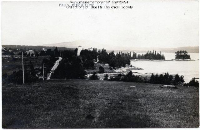 Mill Island, Blue Hill, ca. 1910