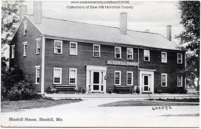 Blue Hill House, ca. 1905