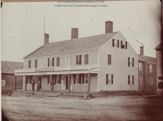 Mansion House, Lincoln, ca. 1880