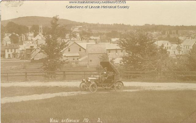 View of Lincoln from Ballard Hill, ca. 1913