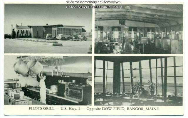 Pilots Grill, Bangor, 1940
