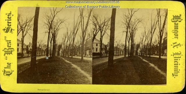 Broadway, Bangor, ca. 1881