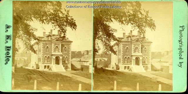 Penobscot County Jail, Bangor, ca. 1875