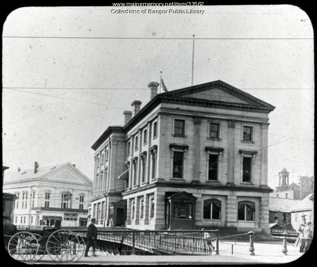Bangor Post Office About 1900
