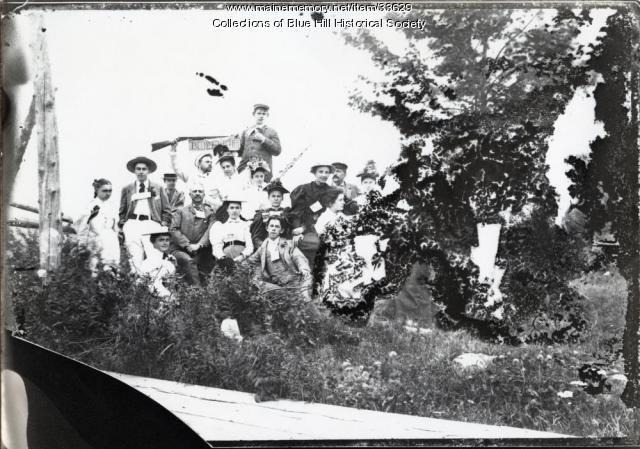 Blue Hill Inn Summer Outing, Blue Hill, ca. 1900