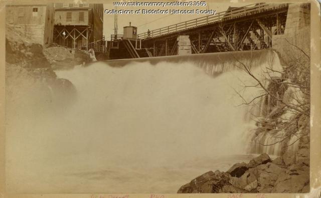 Saco Falls, Saco, ca. 1900