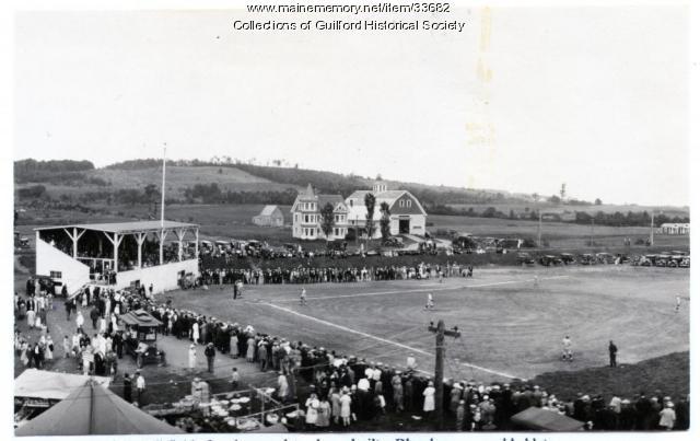 Athletic Field & Preble Farm, Guilford, 1925