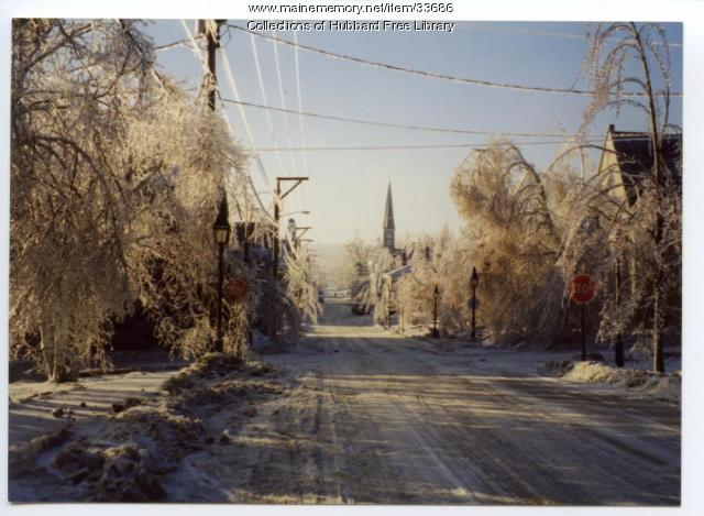 Ice Storm, Hallowell, 1998