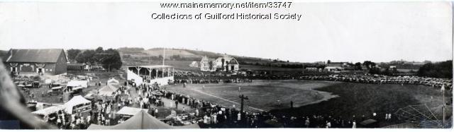 Guilford Fair - Ballfield & Grandstand