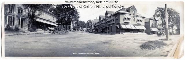 Hotel Braeburn, Guilford, ca. 1910