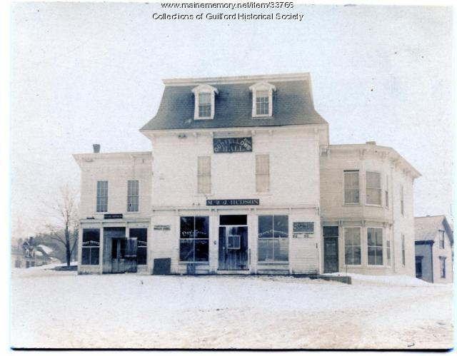 M & J Hudson Store, Guilford, ca. 1900