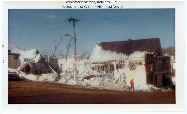 Koritsky Block Fire, Guilford, Feb. 3, 1969