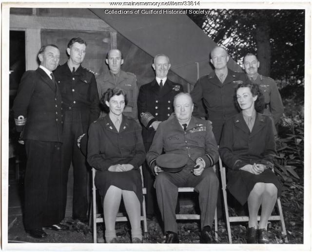 Captain Mattie Pinette, Eisenhower's secretary, Washington, D.C., 1944