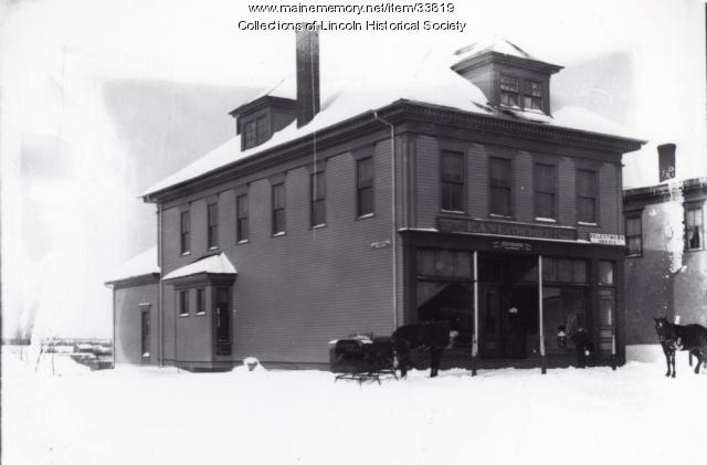 E.A. Weatherbee Store, Lincoln, ca. 1900