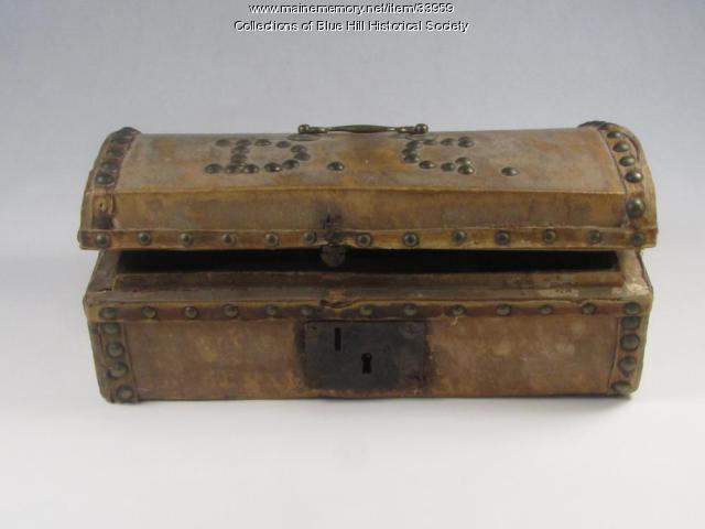 Capt. Daniel Clough's Sea Box, Blue Hill, ca. 1820