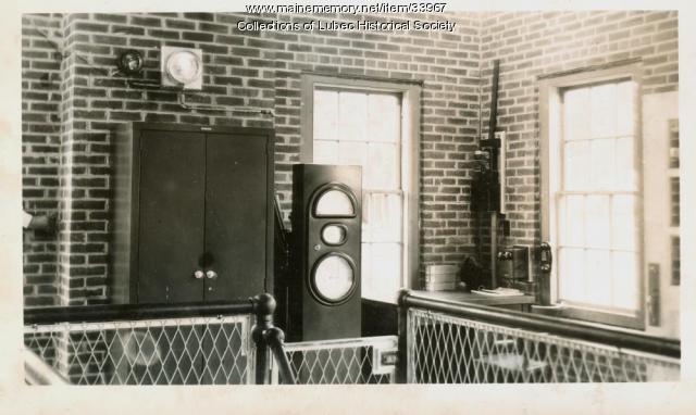 Meter panel, Lubec, ca. 1950