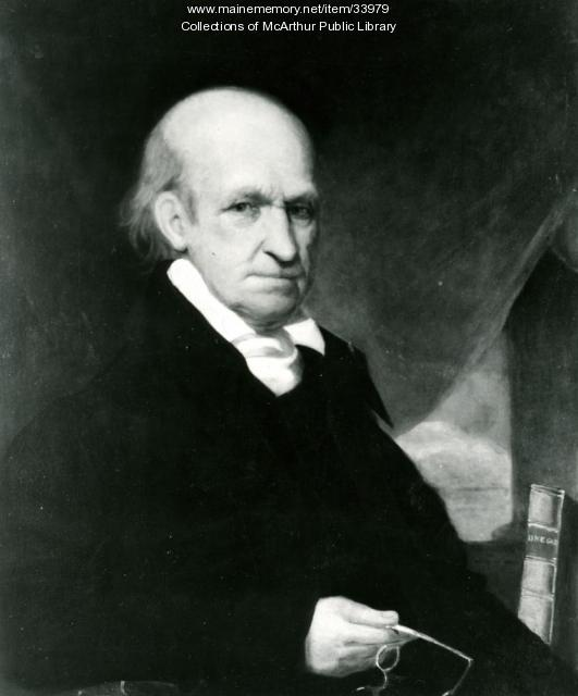 Judge George Thacher, Biddeford, ca. 1820