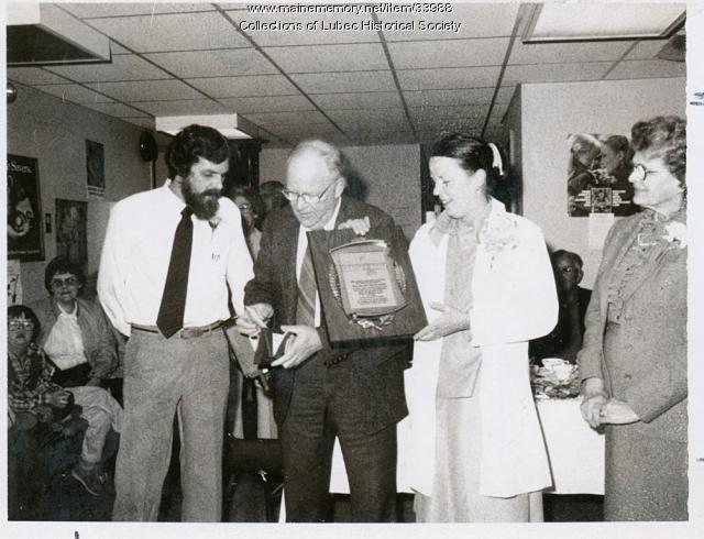 Dr. MacBride, Lubec, ca. 1975