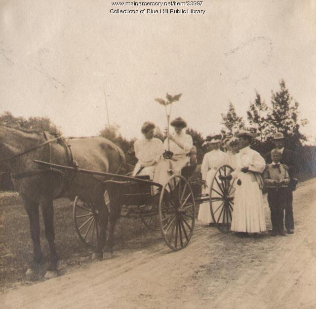 Rusticators, Blue Hill, 1907