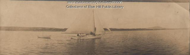 Friendship vessel, Blue Hill, 1907