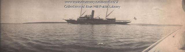 SS Panatoset, Blue Hill, 1907