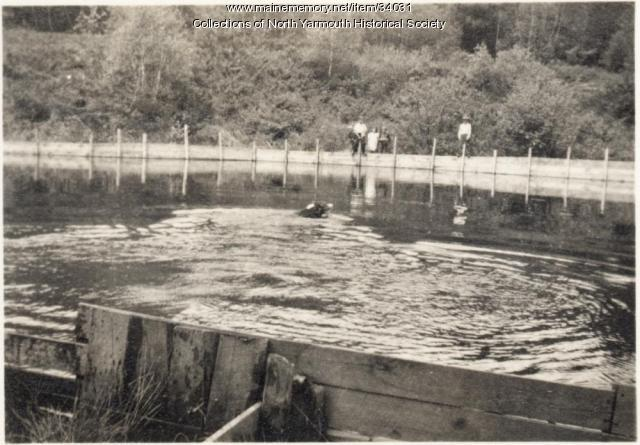 Community Swimming Pool, North Yarmouth, 1937