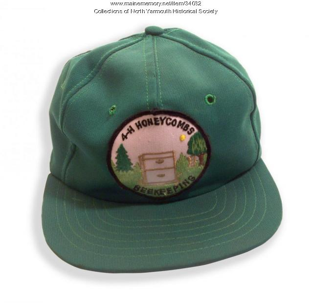4-H Beekeeping Club cap, North Yarmouth, ca. 1985