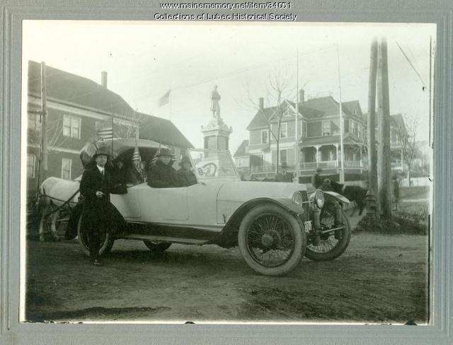 Owen-Magnetic automobile, Lubec, ca. 1916