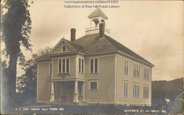 George Stevens Academy, Blue Hill, 1913