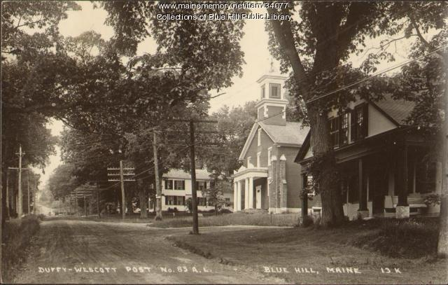 Main Street, Blue Hill, 1954