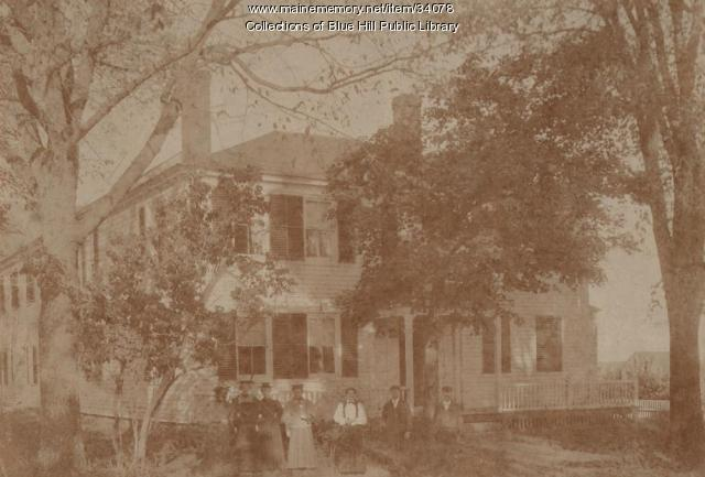 The Academy House, Blue Hill, ca. 1900