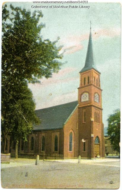 St. Mary's Church, Biddeford, ca. 1909