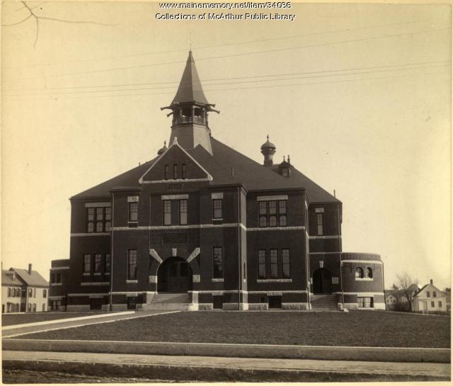 Biddeford High School, ca. 1890