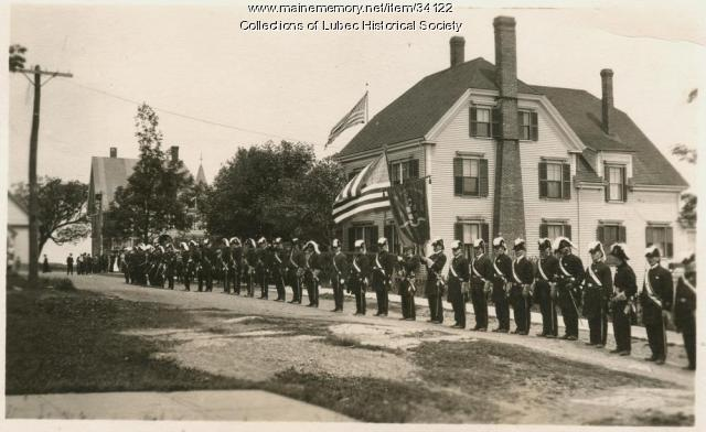 Event on Church Street, Lubec, ca. 1908-10