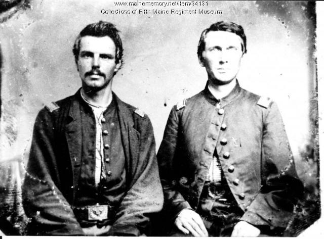 Lt. John French and Lt. John Stevens, 1863