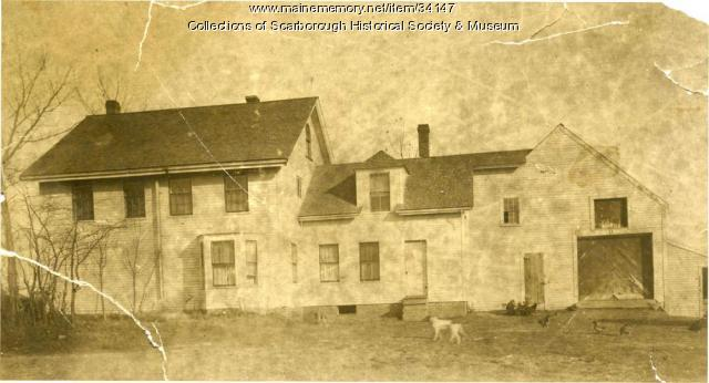 Eldred Harmon Homestead, Scarborough, ca. 1922