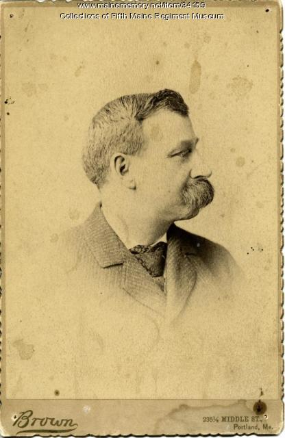 George E. Brown, Fifth Maine Regiment, ca. 1870