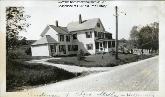 Vaughan Farm, Employee housing, Hallowell, ca. 1933