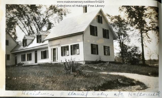Vaughan, Herdman's house, Hallowell, ca. 1933
