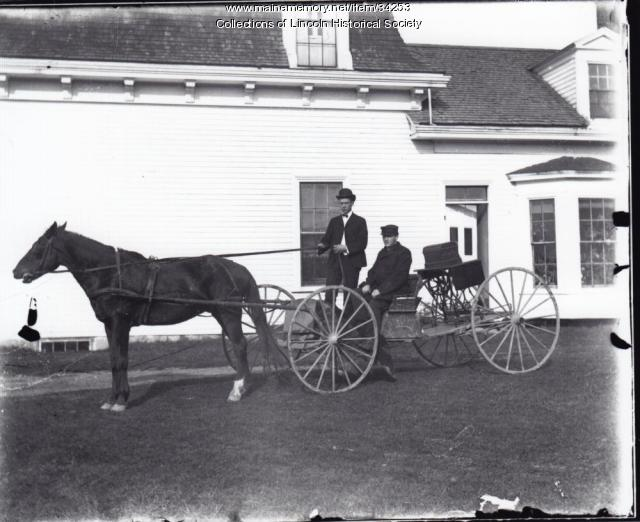 Horse and Wagon, Lincoln, ca. 1900