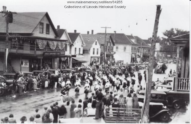 Parade, Lincoln, ca. 1930
