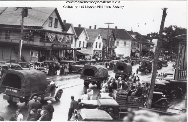 Lincoln Parade, ca. 1930