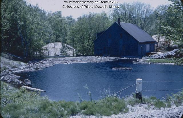 Wilson's Mill, Skillin Road, Cumberland, ca. 1950